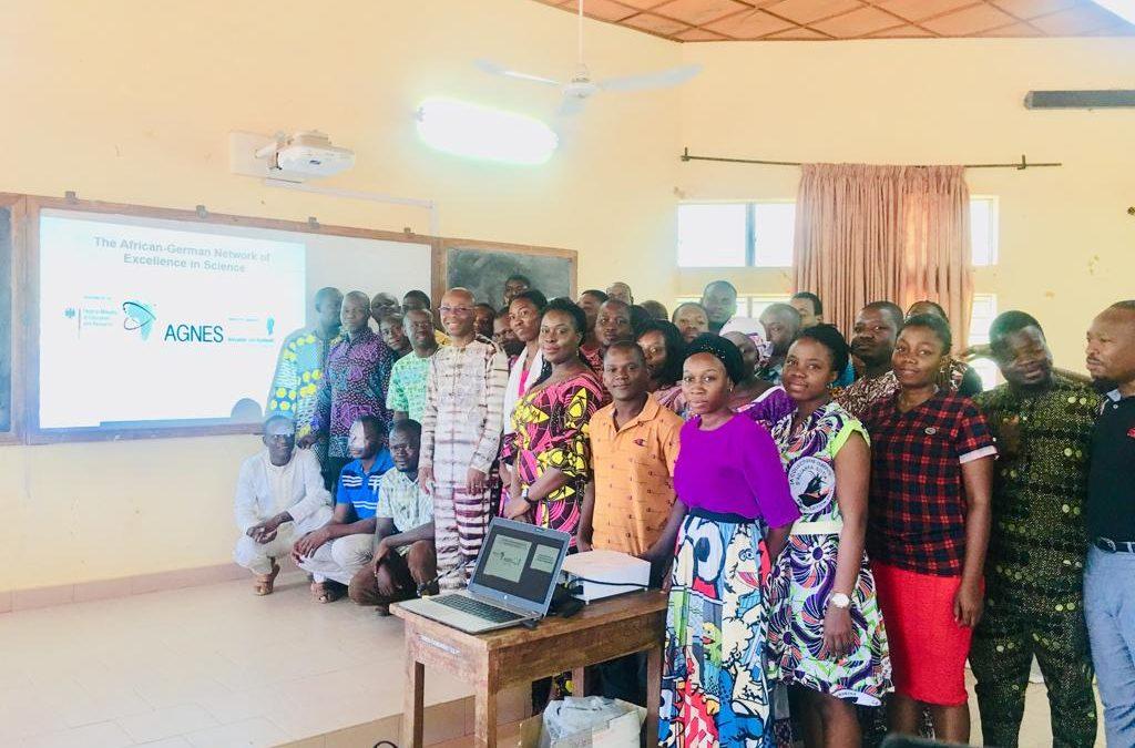 Awareness raising programme at the University of Parakou, Benin