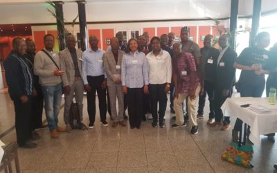 Meeting with African humboldtians at Humboldt award winners' forum