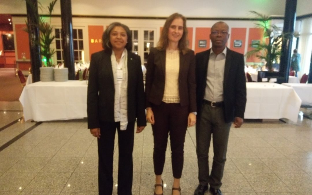 Current and Past AGNES chairs met with Dr Daniela Kneissl at Humboldt award winners' forum