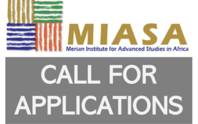 Call for applications: 09 Fellowships (Merian Institute for Advanced Studies in Africa)