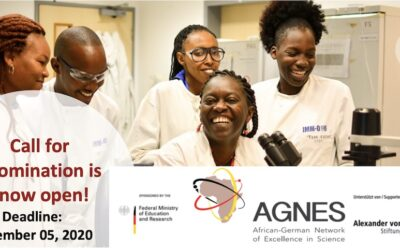 2020 Call for Nominations AGNES Grants for Junior Researchers